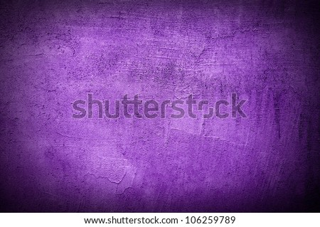 Violet wall texture or background - stock photo