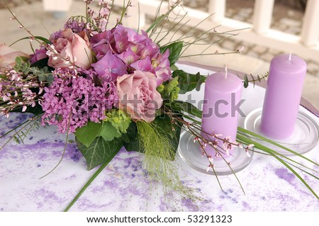 Flower decoration Stock Photos, Flower decoration Stock