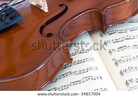 violin - stock photo