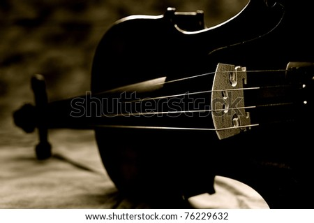 Violin 2 - stock photo