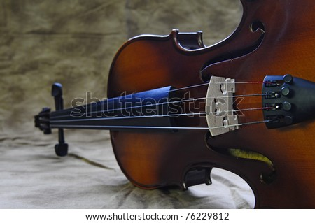 Violin 9 - stock photo
