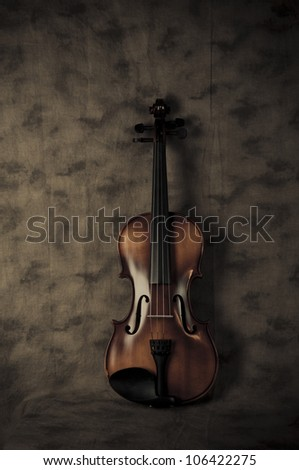 Violin Scene 2 - stock photo