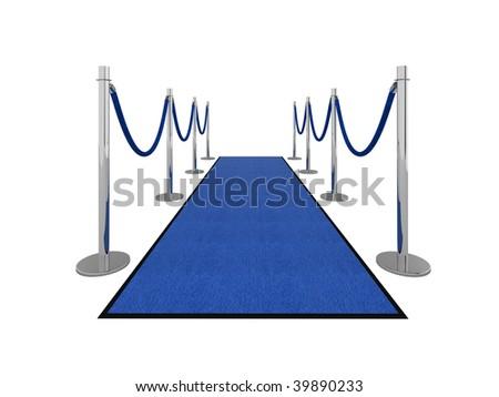 VIP carpet vip illustration isolated on white. - stock photo