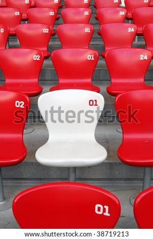 VIP Seat - stock photo