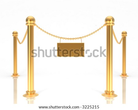 VIP zone red carpet illustration. Event enter. Success, theater, luxury, VIP. Vector Red Carpet isolated on white background. Red carpet successful people. Museum place, museum fencing, fence object - stock photo
