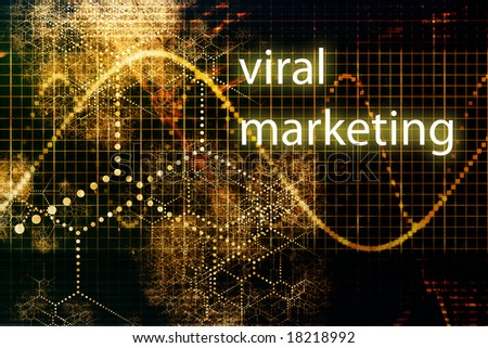 Viral Marketing Abstract Internet Concept Wallpaper Background