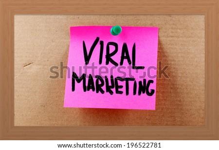 Viral Marketing Concept - stock photo