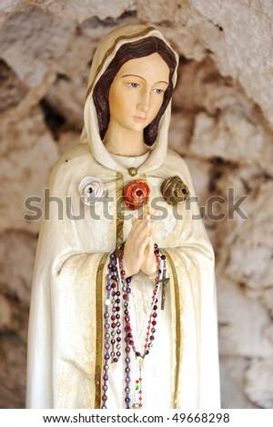 Virgin Marry - stock photo