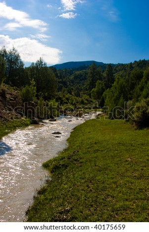 Virgin River - stock photo