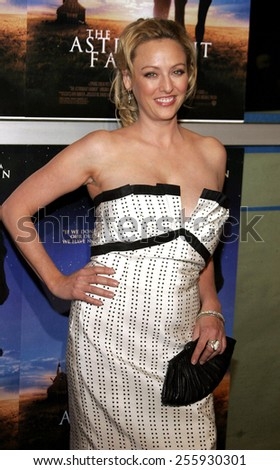 "Virginia Madsen attends the Los Angeles Premiere of ""The Astronaut Farmer"" held at the Cinerama Dome in Hollywood, California, United States on February 20, 2007."