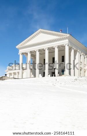 Virginia State Capitol - Richmond - stock photo