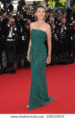 Virginie Ledoyen at the 'Moonrise Kingdom' premiere - during the 65th Cannes Film Festival Cannes, France. 16/05/2012 Picture by: Henry Harris / Featureflash