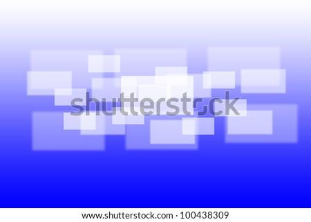 Virtual interface background - stock photo