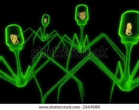 virus - stock photo
