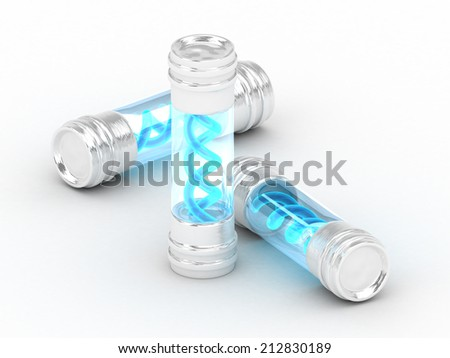 Virus cell culture  - stock photo