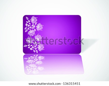 visiting card decoratively abstraction banner design. raster copy of vector file