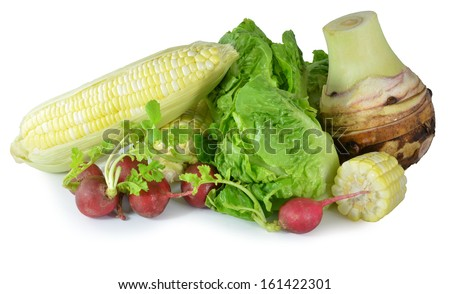 vitamin set of vegetables  - stock photo