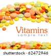vitamins - stock photo