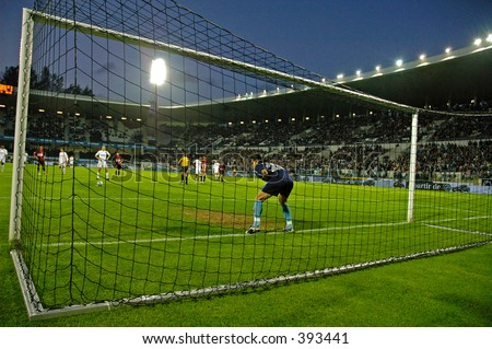 Vitoria's Penalty Kick - stock photo