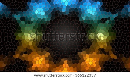 vitral background textures - stock photo