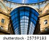 Vittorio Emanuele Gallery - Milan - stock photo