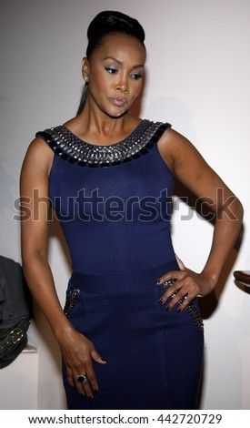 Viveca A. Fox at the Essence Black Women in Hollywood Luncheon held at the Beverly Hills Hotel in Beverly Hills, USA on February 19, 2009. - stock photo