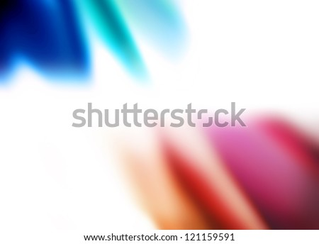 vivid background france, abstract colors on white background - stock photo
