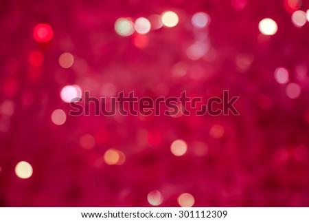 vivid colorful bokeh. Abstract Christmas background - stock photo