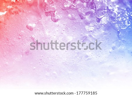 vivid colorful ice background - stock photo