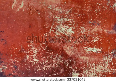 Vivid old copper metal background texture. - stock photo