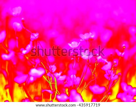 Vivid rays template. Strips mixed into whole spectrum background. - stock photo