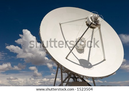 VLA part in New Mexico 7 - stock photo