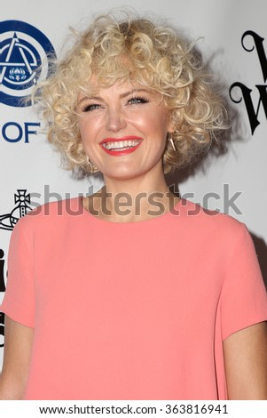 vLOS ANGELES - JAN 9:  Malin Akerman at the The Art of Elysium Ninth Annual Heaven Gala at the 3LABS on January 9, 2016 in Culver City, CA - stock photo