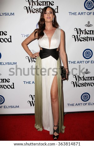 vLOS ANGELES - JAN 9:  Odette Annable at the The Art of Elysium Ninth Annual Heaven Gala at the 3LABS on January 9, 2016 in Culver City, CA