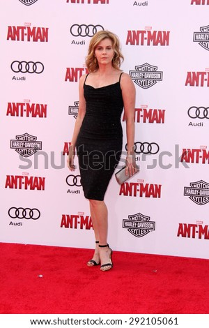 "vLOS ANGELES - JUN 29:  Christie Lynn Smith at the ""Ant-Man"" Los Angeles Premiere at the Dolby Theater on June 29, 2015 in Los Angeles, CA - stock photo"