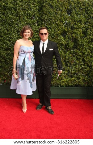 vLOS ANGELES - SEP 12:  Rachel Bloom at the Primetime Creative Emmy Awards Arrivals at the Microsoft Theater on September 12, 2015 in Los Angeles, CA - stock photo