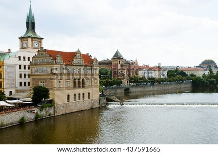 Vltava River - Prague - Czech Republic