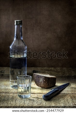 Vodka and black bread