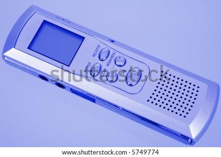 voice recorder - stock photo