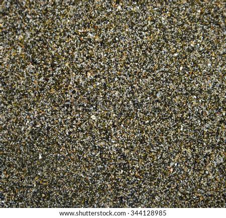 Volcanic sand. Macro 1: 4 - stock photo