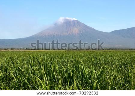 Volcano, Nicaragua - stock photo