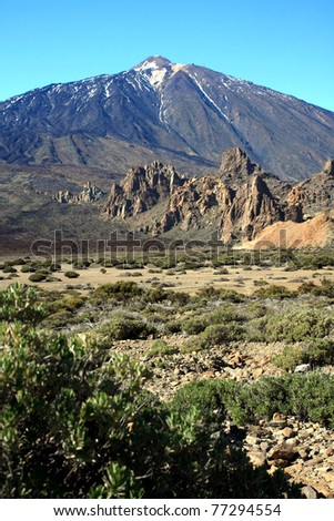 Volcano Pico del Teide, El Teide national park, Tenerife, Canary Islands, Spain