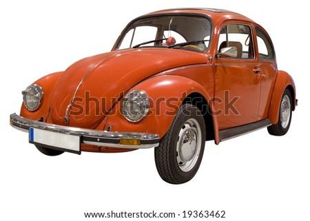 Volkswagen Beetle - stock photo