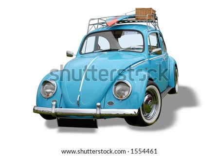 Volkswagen Bug - stock photo