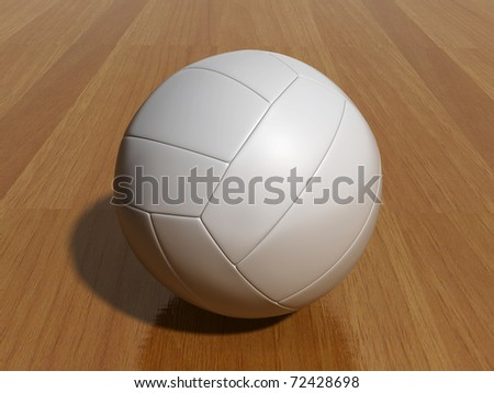 volley ball - stock photo