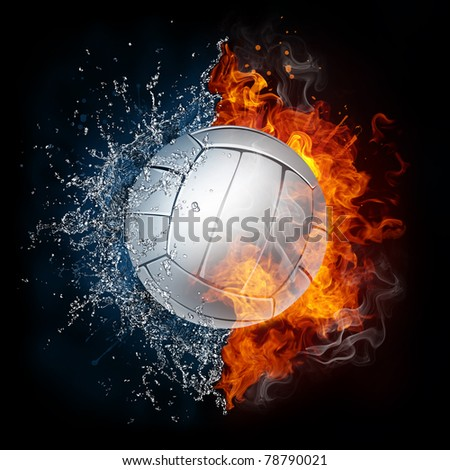 Volleyball Ball - stock photo
