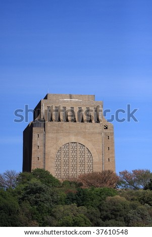 Voortrekker monument situated in Pretoria-South Africa
