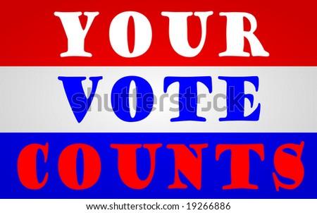 Vote - stock photo