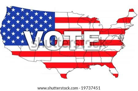 Vote. - stock photo
