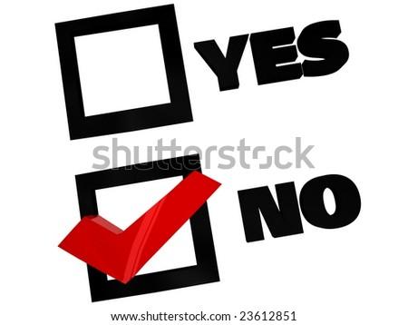 vote box in 3d digital - stock photo